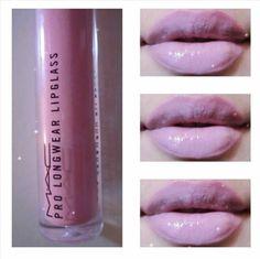 Bubble gum lips by MAC Mac Makeup, Makeup Geek, Beauty Makeup, Makeup Stuff, Makeup Ideas, Lipstick Colors, Lip Colors, Lavender Lipstick, Beauty Crush