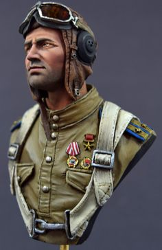 Completed Critique - Mitches Ivan Kozhedub Fighter Ace | planetFigure | Miniatures