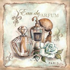 Eau de Parfum CROSS STITCH PATTERN 451 by Maxispatterns on Etsy