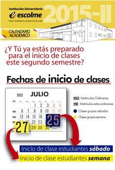 ¿y tú ya estás preparado para el inicio de clases este segundo semestre? Entérate de las fechas.