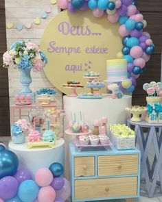 Baby Birthday, Birthday Parties, Birthday Ideas, Baby Staff, Pastel Party, Baby Shower, Reveal Parties, Holidays And Events, Birthday Decorations