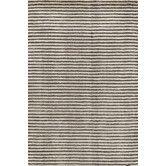 Found it at Wayfair Australia - Grey / Charcoal Cut Stripe Rug