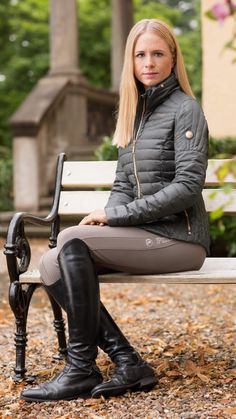 The most important role of equestrian clothing is for security Although horses can be trained they can be unforeseeable when provoked. Riders are susceptible while riding and handling horses, espec… Equestrian Girls, Equestrian Boots, Equestrian Outfits, Equestrian Style, Equestrian Fashion, Horse Riding Clothes, Riding Gear, Riding Boots, Jodhpur