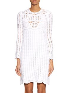 Harriet crochet  dress | Isabel Marant Étoile | MATCHESFASHION.COM UK