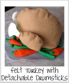 Felt play food Tutorials from Smashed Peas and Carrots