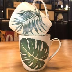 "Universe of goods - Buy ""Nordic brief Tropical plants bone china hand-painted Phnom Penh Ceramic Cup Coffee Milk Tea Mug Drinkware Novetly Gifts for only USD. Coffee Milk, Milk Tea, Mini Bonsai, Mug Printing, Buy Plants, Ceramic Cups, Hand Painted Ceramics, Tropical Plants, Tea Mugs"