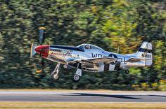 A Very Glamorous Gal  by Chris Buff, via 500px  P-51 Mustang