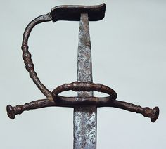 "Swords of the Border Reivers part 5 An extremely rare ""Hanger"" of the late 15th century."