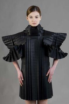 Complex Origami Couture - Morana Kranjec's Folded Paper Dresses Boast Bold Structures (GALLERY)