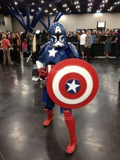 Captain America / Clone Trooper