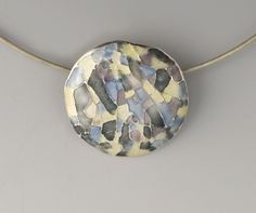 Silver and Enamel Jewelry by Vera Meyer