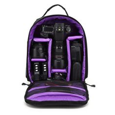 This waterproof bag will fit essential photography equipment for your journey. Type: Soft Bag Package: Yes Accessories Type: Backpacks Model Number: IP-04 Brand Name: Tscope Material: Polyester Comes