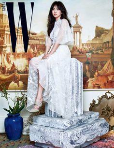 song hye kyo 송혜교 宋惠敎 for WKOREA 2017