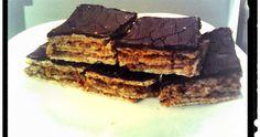 Diétás zserbó   Metálozott testek Tiramisu, Sweets, Cookies, Ethnic Recipes, Food, Diets, Crack Crackers, Good Stocking Stuffers, Candy
