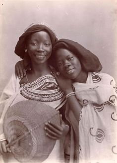 dynamicafrica:    Vintage portrait of two of East African girls, circa 1860-1960
