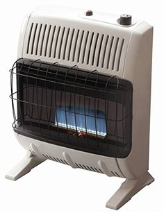 Mr. Heater Corporation Vent Free Flame Natural Gas Heater, 20k BTU, Blue