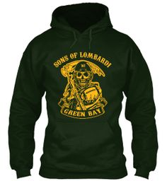 Wear this hoodie and support the Packers with pride! Click to view more styles => http://teespring.com/greenbaynfl