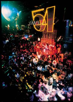 I'd do a lot of drugs & celebrities at Studio 54.