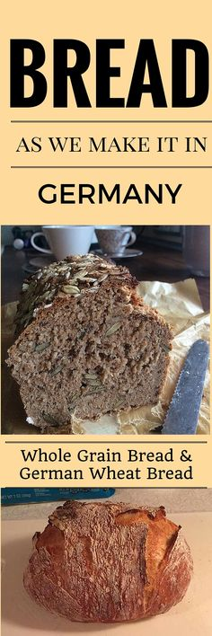 We have great bread recipes on www. check it out! Informations About We have great bread recipes on www. check it out! Dutch Recipes, Baking Recipes, German Recipes, Dessert Recipes, Traditional German Food, Yeast Bread Recipes, Bread Machine Recipes Healthy, German Bread, Bread Cake