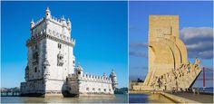 Pasteis de Belém - Lisbonne / Pastel de Nata Monuments, Pisa, San Francisco Ferry, Portugal, Spain, Tower, Building, Voici, Travel