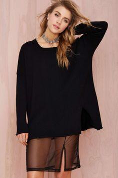 UNIF Zoe Sweater Dress