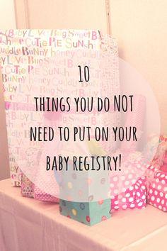 Best Baby Registry List  Free Printable Checklist  Baby