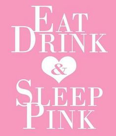 Eat Drink & Eat Pink