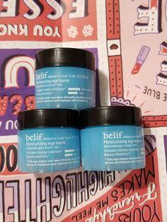 Lot of 3 - Belif ~ Mini Moisturizing eye Bomb Essential Eye Cream 5 mL ~ NEW! 5 Ml, Love Clothing, Facial Care, Eye Cream, Beauty Women, Moisturizer, Cosmetics, Eyes, Mini