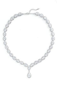 I'm starting to think about jewelry, and I like this (though I don't like the price tag so much)... I'm so bad at accessorizing, though, I don't know which style of necklace I should wear with my dress...