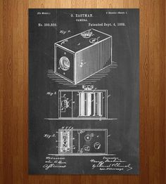 Pinhole Camera Patent Art Print by Patent Prints on Scoutmob Shoppe