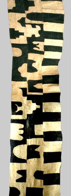 Esther Fitzgerald Rare Textiles A womans appliqued raffia skirt Date:mid 20 cent. Nigeria