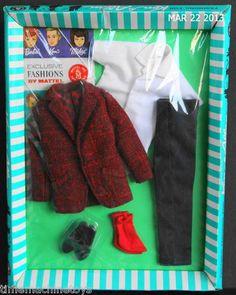 RAREST Ken Fashion 1966 Seein The Sights 1421 Vintage Barbie RARE | eBay