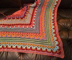 Lost in Time Crochet Wrap