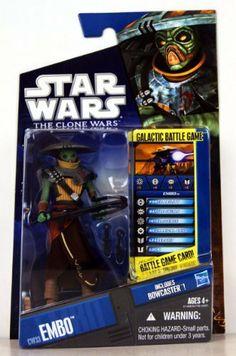 Star Wars Clone CW08 Pre Vizsla Sealed MOC FREE SHIPPING