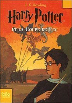 Harry Potter et la Coupe de Feu (French translation of Harry Potter and the Goblet of Fire) Nom Harry Potter, Harry Potter Goblet, Rowling Harry Potter, Harry Potter Universal, Ron Et Hermione, Used Books Online, Book Review Blogs, Goblet Of Fire, Harry Potter Collection