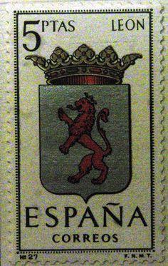 Sellos - Escudos Heráldicos - León