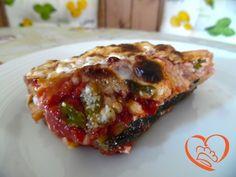 Parmigiana rossa di zucchine http://www.cuocaperpassione.it/ricetta/8c2c1f4c-9f72-6375-b10c-ff0000780917/Parmigiana_rossa_di_zucchine