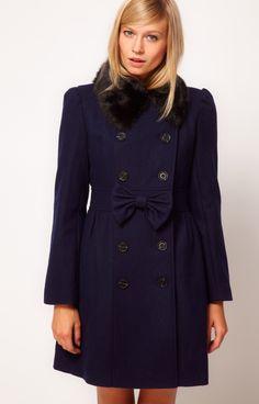 Bow Coat from Asos