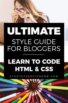 Learn basic HTML/CSS so you can change the design of your own WordPress blog. Great for bloggers and online entrepreneurs! #blogdesign #diyblogdesign #blogtips #wordpressblog #wordpress #bloggers #html #css #learntocode Beard Logo, Interactive Media, Html Css, Blog Design, Portfolio Design, Learn To Code, Online Entrepreneur, Blog Tips, How To Start A Blog