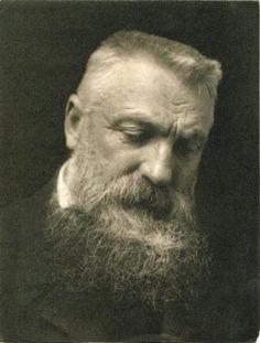 ( portret ) Fotograaf George Charles Beresford 1902 // de baard, een trend van de afgelopen periode die toen al in was. //