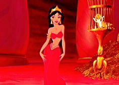 Princess Jasmine Slave | : Jasmine / Aladdin Fans ~ Charms Based on Pins?? Possible Red Slave ...