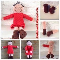 Birdie* haakt, #haken, gratis patroon, Nederlands, schanulleke, Suske en Wiske, knuffel, amigurumi, speelgoed