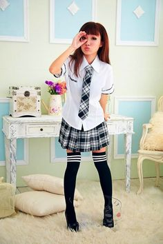 Japanese School Uniform cosplay