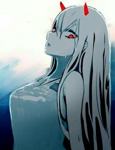 Zero two -darling in the franxx art Anime Meme, Manga Anime, Manga Girl, Anime Art, Photo Manga, Chlorophytum, Waifu Material, Sarada Uchiha, Zero Two