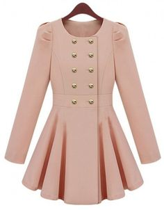 Look like royalty in this blush pink Princess coat. Pair with dark skinny jeans for the perfect ice-skating outfit! #HpnoHoliday