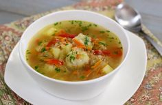 Shchi (Russian Cabbage Soup) With Meatballs | Olga's Flavor Factory