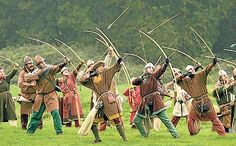 recreation of archers