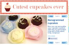Cupcake recipe inspiration