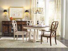 Hooker Furniture Dining Room Leesburg Splatback Side Chair 5481-75310 - Shofers - Baltimore, MD