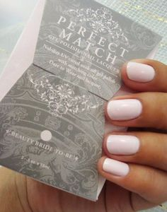 Perfect Match gel polish in Beauty Bride-to-Be